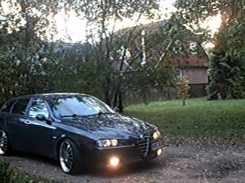 alfa romeo 156 sportwagon facelift youtube. Black Bedroom Furniture Sets. Home Design Ideas