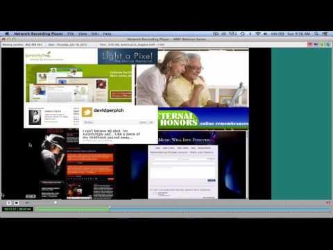 2013 MMF Webinar #3: Online and Offline Faith