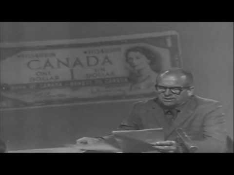 TBT  The Cdn Dollar closes at 96.91 cents on June 4th 1970