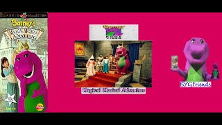 Barney Home Video: Barney's Magical Musical Adventure (1999 VHS)