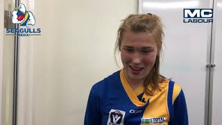 Seagulls Media | Tahlia Merrett post game - VFLW Round 14