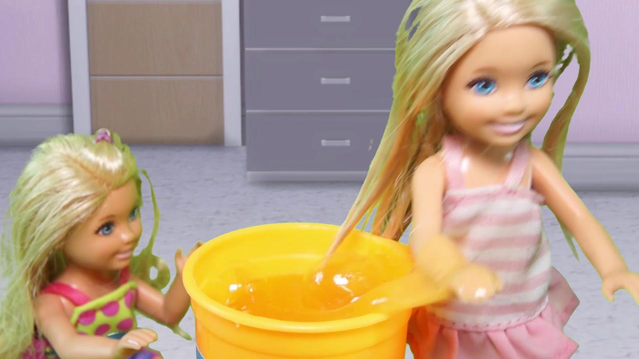 Rodzinka Barbie - Prank gluty i kulki orbeez. Bajka dla dzieci po polsku. The Sims 4. Odc. 89