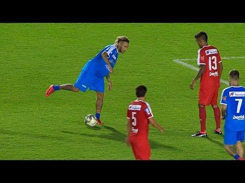Neymar vs Time Vermelho (Futebol Contra Fome) HD 1080i (26/12/2018)