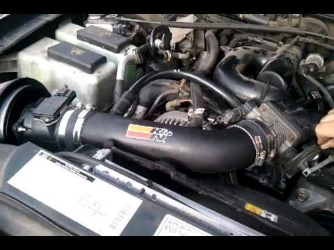 Ford Explorer Sport Trac With K Amp N Intake Youtube