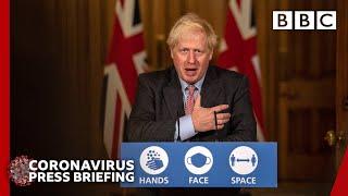 UK at 'critical moment' with coronavirus, Boris Johnson 🔴 @BBC News LIVE - BBC