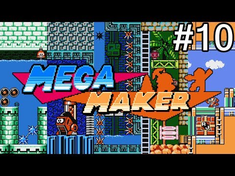 Let's Play Mega Man Maker - #10: Trekking into the Sunset Peaks