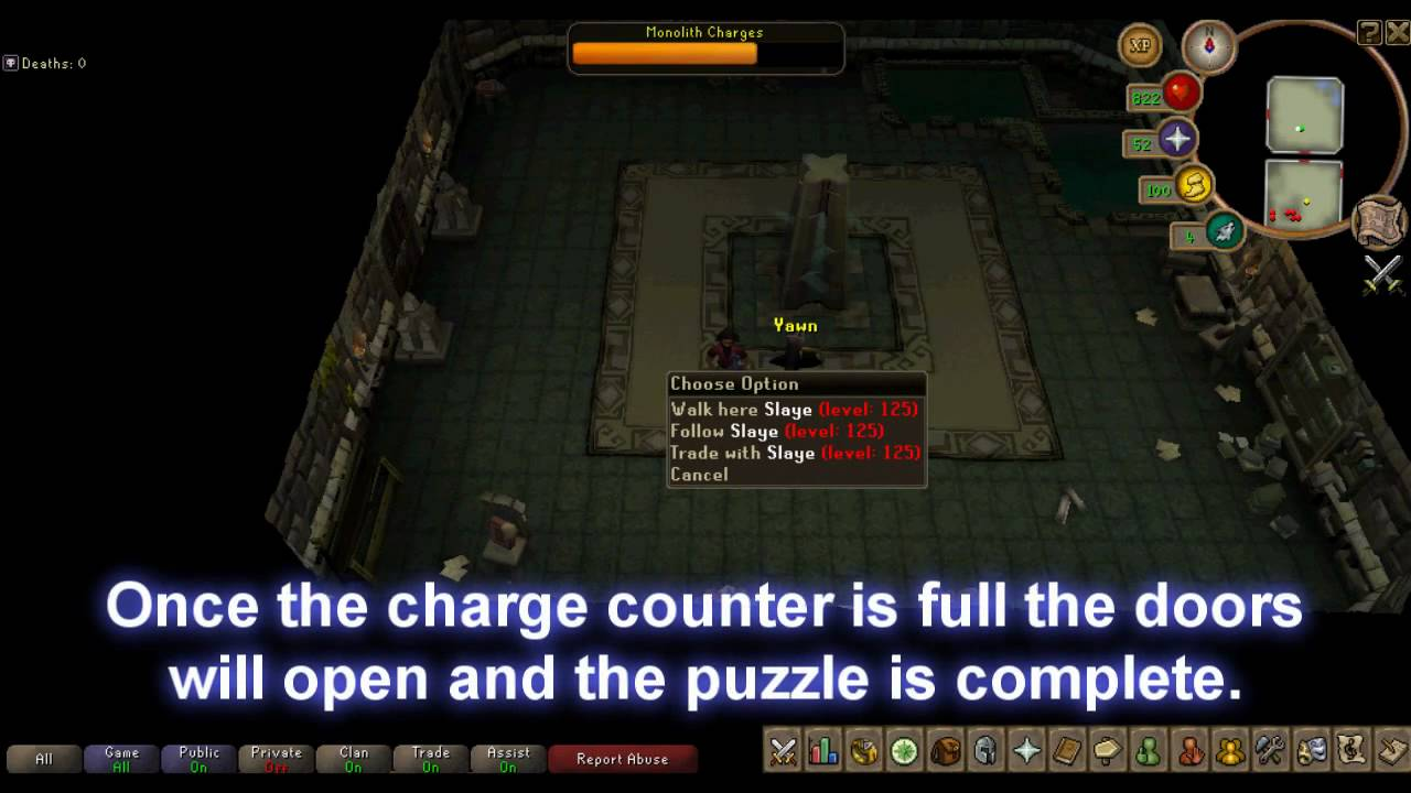 Dungeoneering Puzzle Monolith