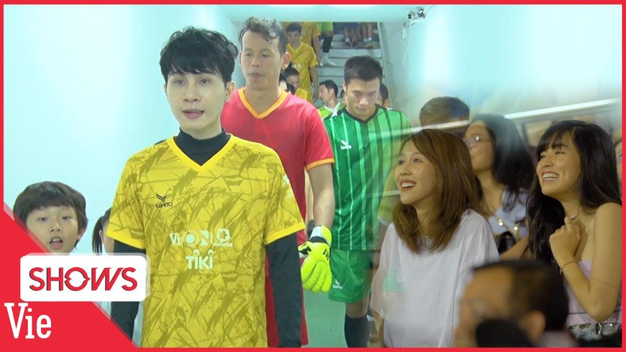 Download Jack và các nghệ sĩ tranh tài cùng dàn cầu thủ tuyển quốc gia, Hậu Hoàng -Khánh Vân cổ vũ nhiệt tình
