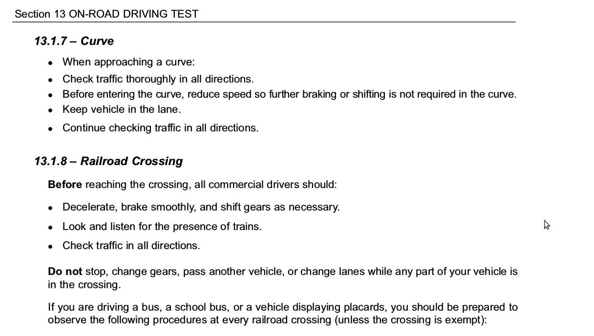 Motor vehicle ny permit test impremedia section 13 on road driving test new york commercial drivers manual youtube nvjuhfo Gallery
