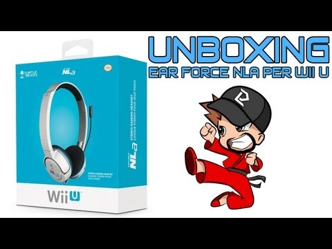 Unboxing Turtle Beach - Ear Force NLa Per Wii U