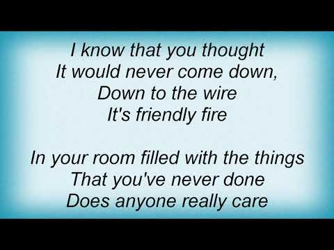 Sean Lennon - Friendly Fire Lyrics