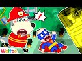 Super Firefighter Wolfoo Rescue Team - Playing Professions for Kids | Wolfoo Channel