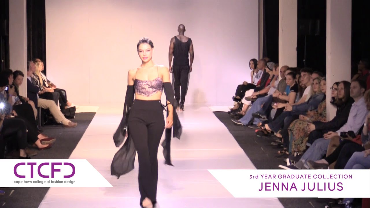 Jenna Julius 3rd Year Graduate Collection Ctcfd Fashion Show 2017 Youtube