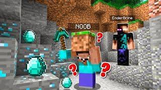 Trolling as ENDERBRINE in Minecraft PE! (He *FREAKED* When He Saw Enderbrine)