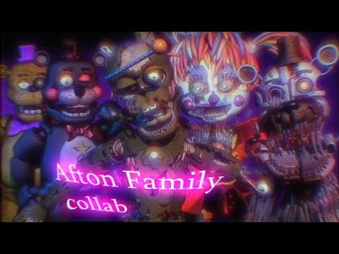 (sfm\collab)Afton Family collab with  Yumi Geeker