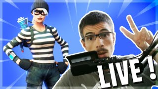 FORTNITE ] I LOVE THE WEEKEND BUT NOT THE NEW MAJ! FACECAM PARTY PERSONNALISE! PERSO part #PP