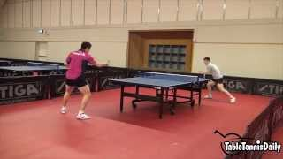 Fan Zhendong & Liang Jingkun Training - Swedish Open 2015!