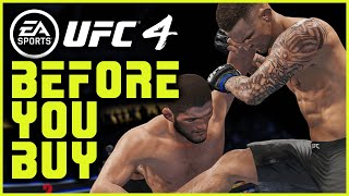 UFC 4: 10 Things You NEED TO KNOW Before You Buy