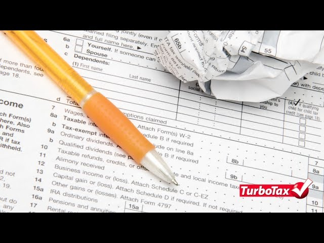 Video How To Amend Taxes That Are Already Filed Turbotax Tax Tips