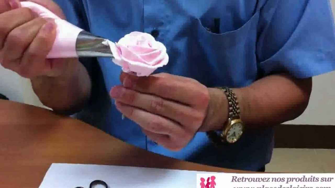Comment Realiser Une Fleur Avec De La Creme De Wepam Produit