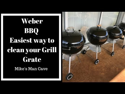 Weber Life - The Easiest Way to Clean your Grill Grate
