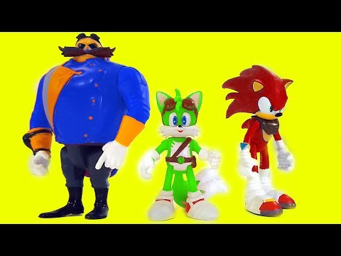 Best Learning Colors Video For Children - Sonic Boom Color Mixup Toy Game