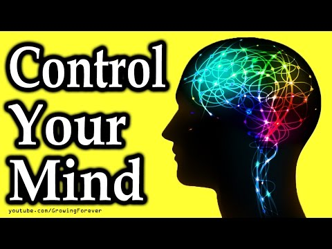 Use Your Subconscious Mind Power To Control How You Feel And Act. Law of Attraction, Mind Power