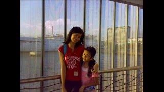 me n my sister at ocean park manila