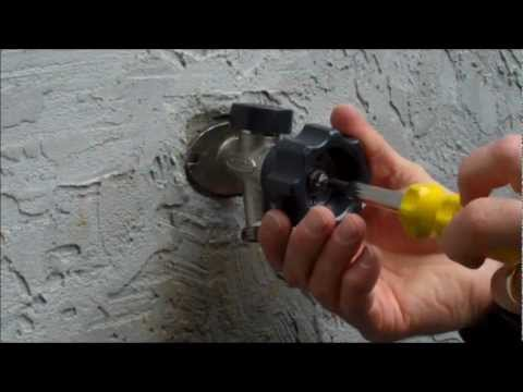 Mansfield Style Hydrant Repair Video - Leaking Behind the Handle ...