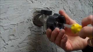 Mansfield Style Hydrant Repair Video - Leaking Behind the Handle