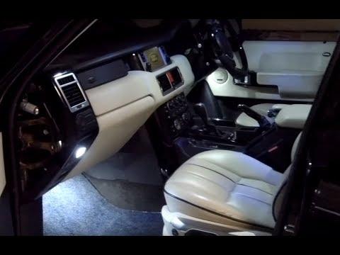 Awesome FULL LED Range Rover L322 Interior Light Kit Fitting & Demo