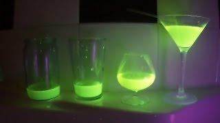 Опыт-Светящаяся жидкость