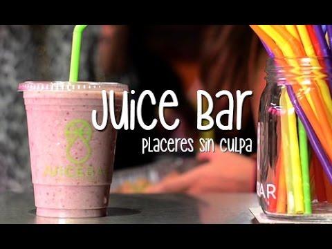 Juice Bar, placeres sin culpa – Vida Zen