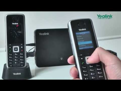 Handset Registration W52P - YouTube