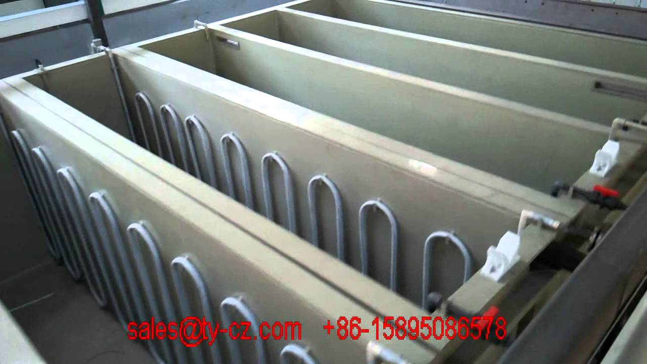 Aluminium anodizing plating production line youtube aluminium anodizing plating production line solutioingenieria Choice Image