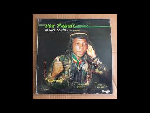 Musical Power & The Root Vibrators - Vox Populi Democracy ! Nigerian Reggae Killer ! 1991 !