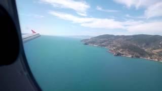Gazipaşa Havalimanı'na Iniş | Landing To Gazipaşa Airport With Turkish Airlines
