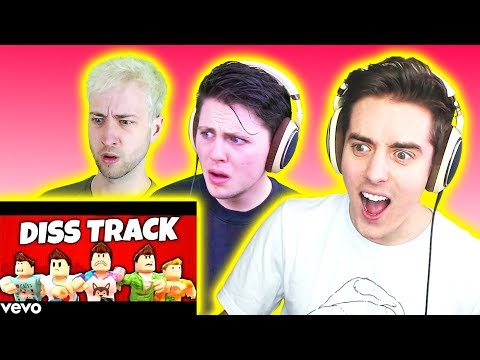 REACTING TO THE PALS DISS TRACK! (The Pals React)