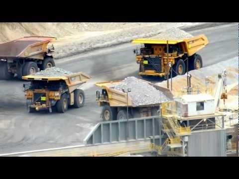 Loading Into The Crusher   Bingham Canyon Copper Mine