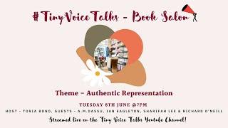 Tiny Voice Talks Book Salon - Representation