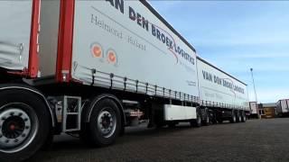 Langste Nederlandse roadtrain Van den Broek Logistics