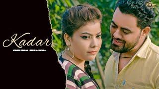KADAR ( Official Song ) | Boota Singh | Munish Munak | New Haryanvi Songs Haryanavi 2019 | MGR
