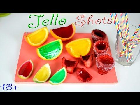 АЛКОГОЛЬНОЕ ЖЕЛЕ во ФРУКТАХ - ИДЕИ  для вечеринки /Jello SHOTS +18