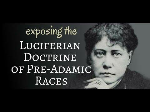Luciferian Doctrine of Pre-Adamic Races is Deceiving Christians