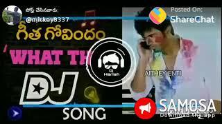 remix of gita govindam song you like it