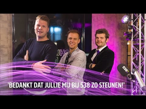 Armin van Buuren bedankt 538 voor z'n succes | 538DJ Hotel 2016