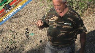 Pt 1 - Ricerca acqua sotterranea con l'esperto rabdomante Fernando Farabollini