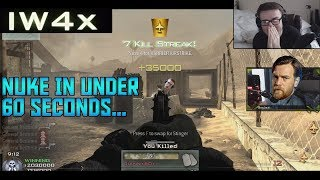 A Nuke In Under 60 Seconds On IW4x... - 18 Players On Rust Is Cursed...