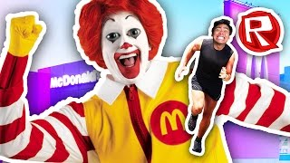 escaping the fast food restaurant   roblox