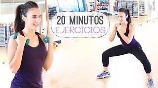 RUTINA DE EJERCICIOS 20 MINUTOS | TONIFICA TODO EL CUERPO